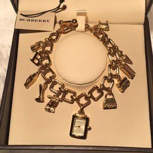 Authentic Burberry Charm Watch/Bracelet